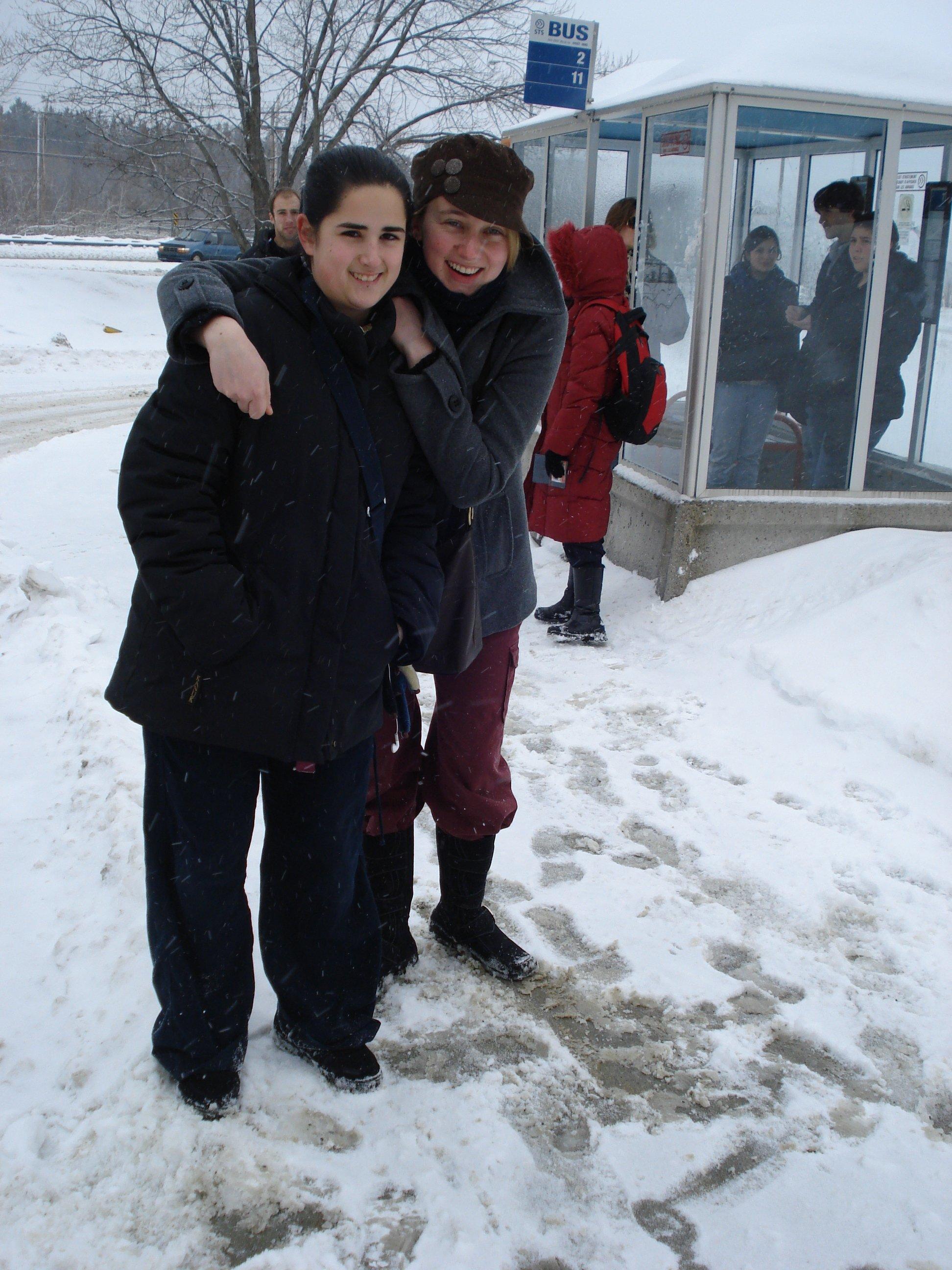 Talyah et Amandine